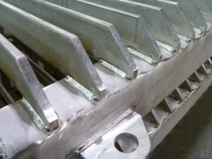 Fabricated Bar Grating